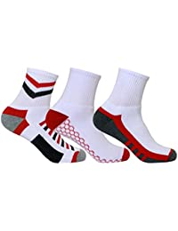 Men's PO3 Ankle Combed Cotton Terry Sports Socks