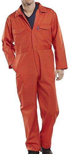 BeeSwift PCBSOR36 poli-cotone/36 B Workwear Pc, colore: arancione