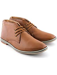 WOODSTONE CAZER Men's Genuine Leather Boots Shoes/Men's Shoes/Casual Shoes/ BOOTS FOR MEN