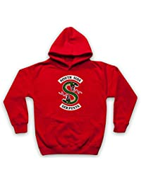 622ab0572e46 Inspired Apparel Inspire par Riverdale South Side Serpents Two Headed Snake  S Logo Officieux Sweat a