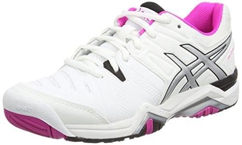 bianco 0135 Nero Scarpe Asics Bianco Donna 10 Challenger Rosa Gel Luce Tennis Da xAZqwpOgBn