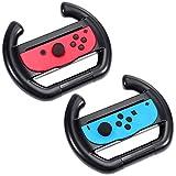 Produktbeschreibungen: 1.Zacro Nintendo-Controller Lenkrad Griff verwandelt Ihren Joy-Con in einen Lenkradform Controller für Nintendo Switch.   2.Sie stecken einfach den Joy-Con Controller in die zentrale Tafel des Rades,sehr leicht zu installieren....
