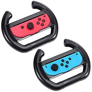 Zacro Nintendo Controller Lenkrad 2 Stück Lenkrad Wheel für nintendo switch Joy-Con Lenkrad