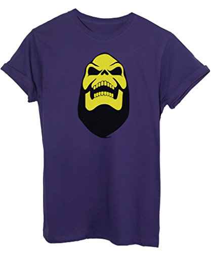 T-Shirt SKELETOR HE-MAN MASTERS - ANIME E VIDEOGAMES - by iMage - Uomo-XXL - Viola