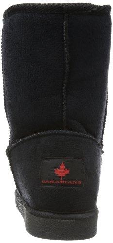 Canadians - 266237, Stivali Donna Nero (Schwarz (black 004))