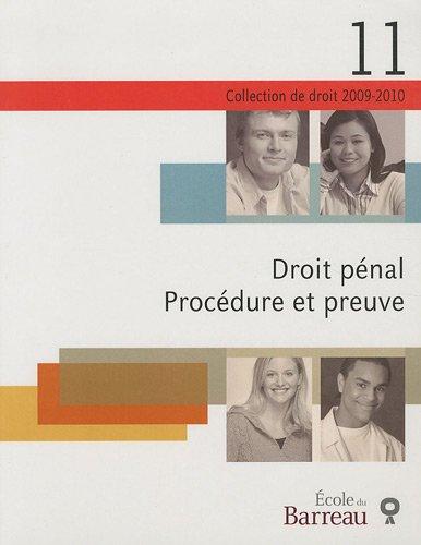 Droit pénal : Procédure et preuve