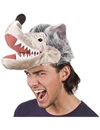 Alsino Tierhut Karneval Chicken Schaf Mütze Schweinemütze Wolfhut Fasching Kopfbedeckung
