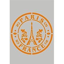 Stencil Plantilla para DIY proyectos/diseño de París