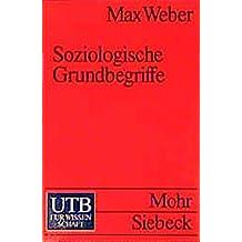 Uni-Taschenbücher Nr. 541: Soziologische Grundbegriffe