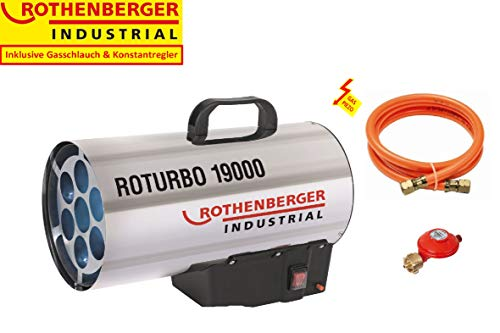 Rothenberger 1500000051 RoTurbo 19000 - Generador de aire caliente a gas