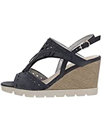 The FLEXX B606/25 Chaussures Compensées Femme NAVY 38