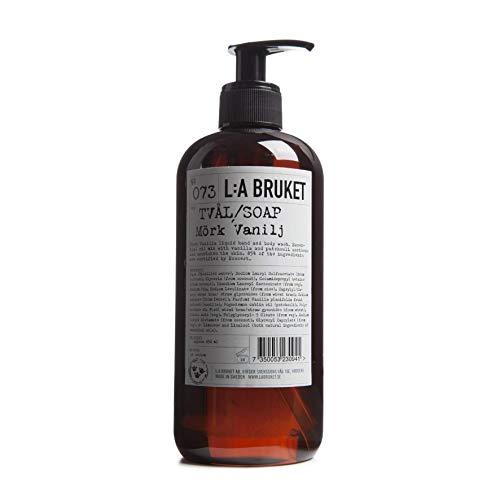 L:a Bruket No.73 Flüssigseife, Dark Vanilla, 1er Pack (1 x 450 ml) -