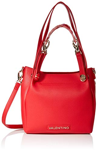 Mario Valentino VBS2ZM01, Sac femme - Rouge - Rouge (Rosso 003), 10.5x22.5x24.5 cm (B x H x T)