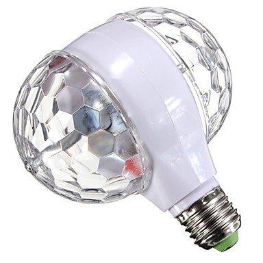 1 stück led rgb bühne glühbirne e27 rotierenden für ktv bar disco party decor lampe doppelkopf ac95-240v