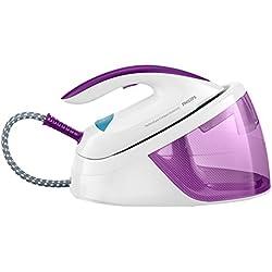 Philips Centrale Vapeur GC6802/30, 2400 W, Violet, Blanc