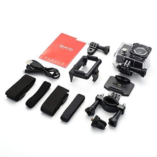 Tree-on-Life Voller HD 1080P Sport-Cam Wasserdichte Action-Kamera 2,0-Zoll-Bildschirm DV-Cam im Freien
