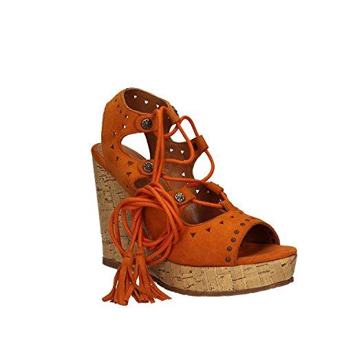 Apepazza CLR10 Sandales compensées Femmes Orange