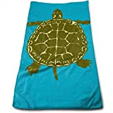 Hipiyoled Native American Turtles Logo Fade-Resistant Super Absorbent Shower\Beach\Bath Towels Workout,Gym,Fitness,Golf,Yoga,Camping,Hiking,Bowling,Travel,Outdoor Sports Towel