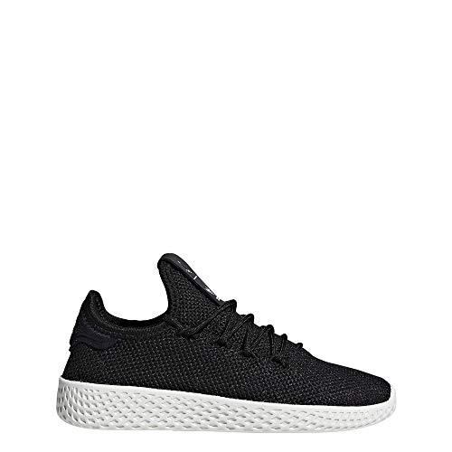Adidas Unisex-Kinder Pw Tennis Hu C Sneaker, Schwarz Negbás/Blatiz 000, 31 - Kinder Adidas Schuhe Tennis