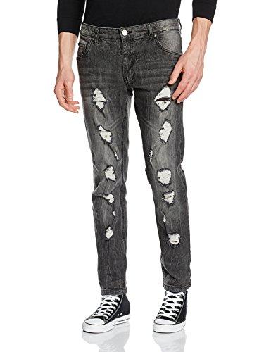 SHINE Original Slim Fit, Jeans Uomo, Grau(Grunge Grey), W38/L34