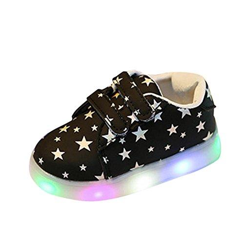 Sandalen Gerade 2019 Neue Marke Mode Weichen Glühenden Kinder Sandalen Sport Schuhe Jungen Mädchen Flache Baby Led Luminous Beleuchtung Turnschuhe Sandalen