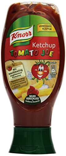 Knorr Tomato Joe Kinder Ketchup 430 ml (8 x 430 ml)