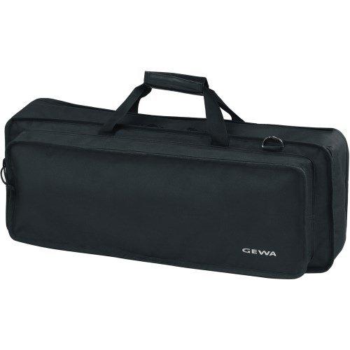 Keyboard Gig Bag Basic, 96x37x15 cm, mit Notentasche, schwarz, reiß- und wasserfest