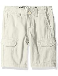 Nautica Boys' Cargo Slim Fit Shorts
