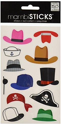 Unbekannt Me & My Big Ideas mambisticks, Sticker-Set, Hüte
