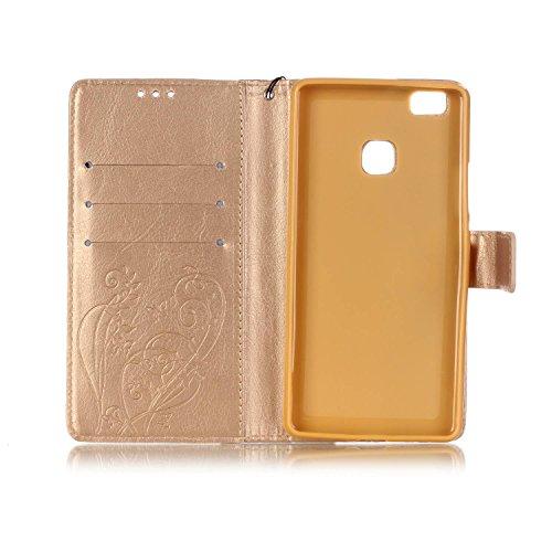 Cozy Hut® Custodia per Apple iPhone 7 Plus,[Shock-Absorption] [Ultra Slim] Portafoglio Wallet Libro Case Cover, Pelle Stampata Morbida PU Libro Cristallo Bling Strass Case Cover Diamante