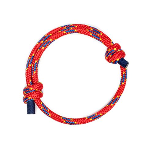 Wind Passion Rot Geflochtene Seil Wasserdicht Armband Geschenk für Ihn