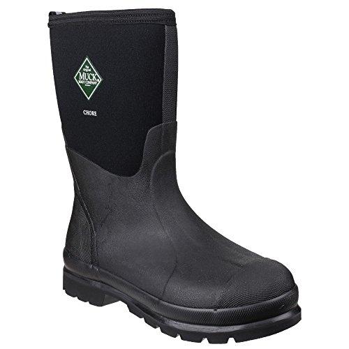 Muck Boots Chore - Bottes en Caoutchouc - Adulte Unisexe Noir