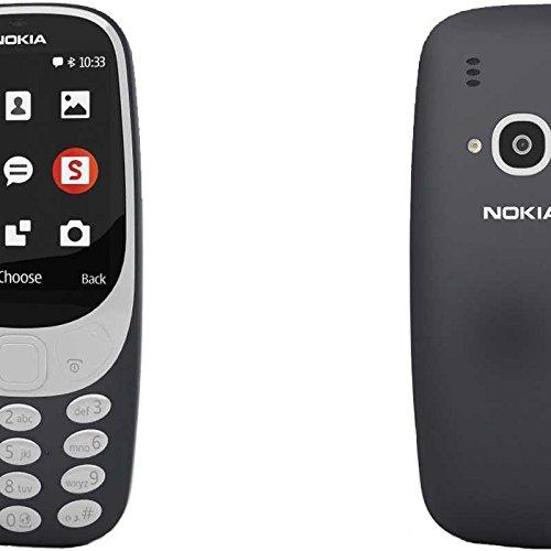 Nokia 3629993310del cellulare (6,09cm (2,4pollici) Display, Dual SIM, MicroSD lettore di schede di memoria, 1200mAh batteria) Blu