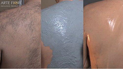 500g Capillum AMOVE NATURAL ganzkörper Haarentfernung ohne Schmerzen - Dermatest sehr gut