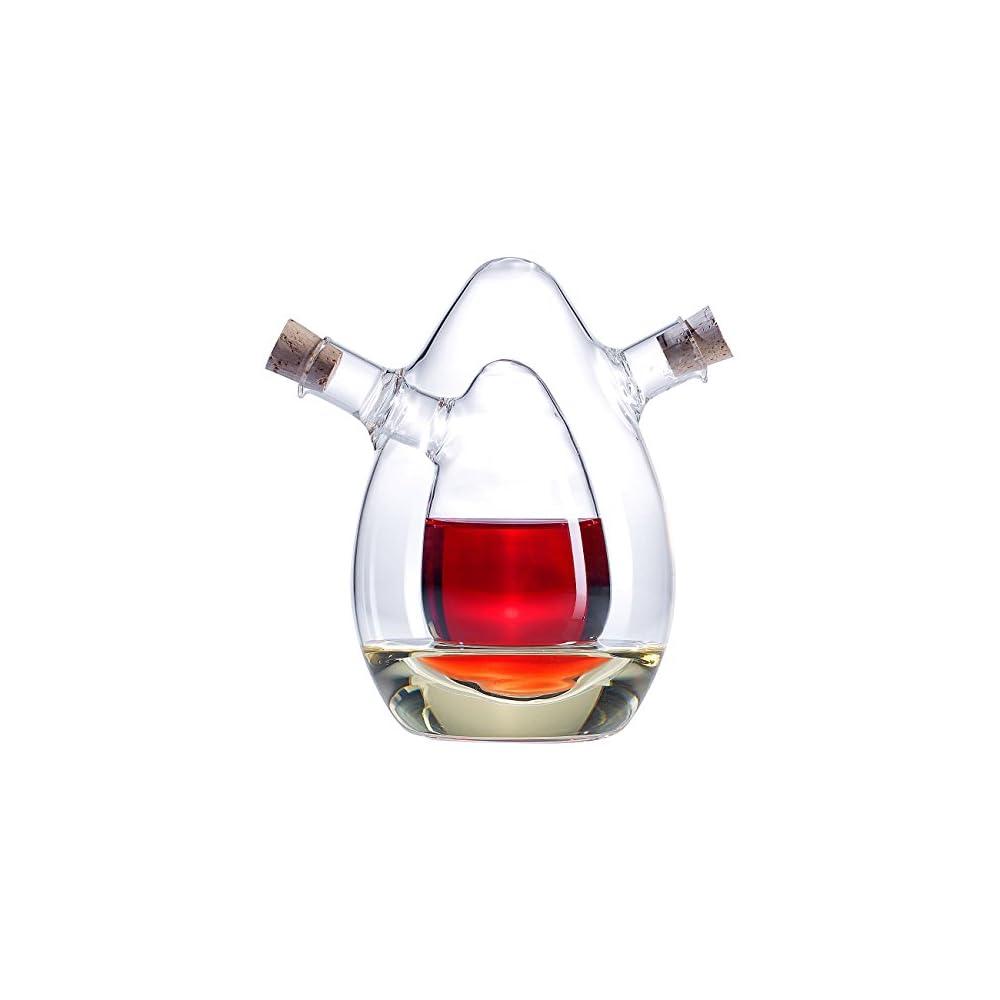 Rosenstein Shne 2in1 Essig Und L Spender Aus Glas
