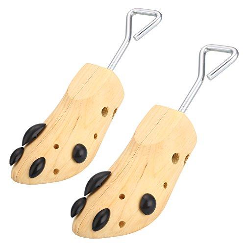 Par-de-Horma-de-Zapato-para-Hombres-y-Mujeres-Ajustables-Expansores-1-Via-para-Estiramiento-de-Zapatos-Camillas-Zapatos-de-Madera-Size36-42-L