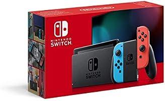 Nintendo Switch Konsol, Kırmızı/Mavi Joy-Con, Resmi Distribütör Garantili
