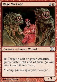 Magic: the Gathering - Rage Weaver (223/383) - Tenth Edition - Foil by Magic: the Gathering