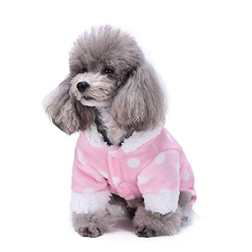 Sweetie Hundemantel FüR Hundekleidung Hundoverall Soft Cosy Haustierbekleidung Haustiermantel LNAG , (Teufel Kostüme Sweetie)