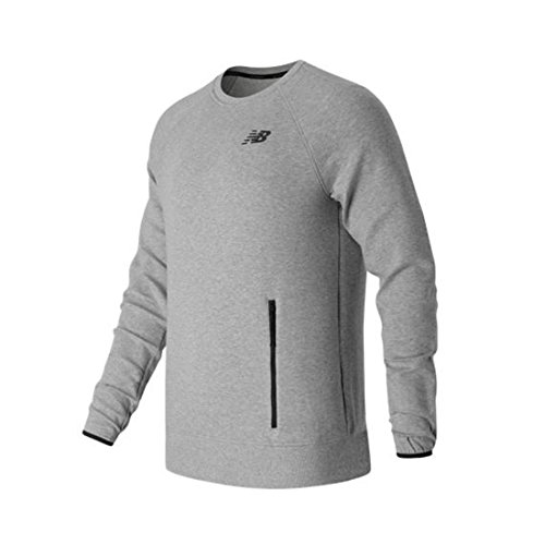 New Balance Sport Style Crew Sweatshirt Herren grau / schwarz