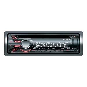 Sony CDX-GT470UM Autoradio CD/DVD Noir