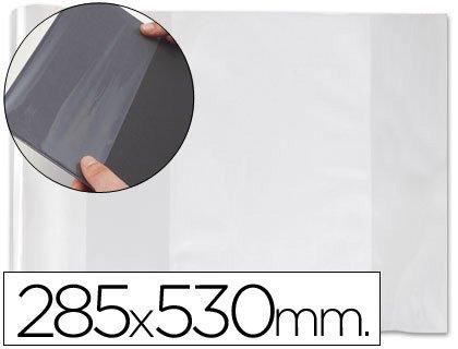 forralibro PVC mit Klappe verstellbar Aufkleber 285x 530mm (100Stk.) (Klappe Verstellbare)