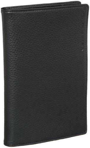 Porsche Design Cervo Wallet V11 4090000451, Herren Geldbörsen, Schwarz (black 900), 12x10x2 cm (B x H x T) (Cervo-leder)