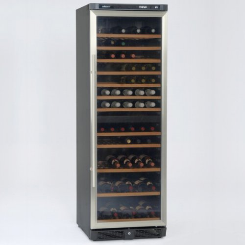 Coobinox Weintemperierschrank WE 396 L Edelstahl