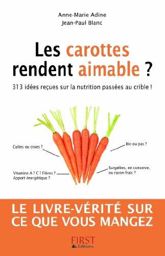 Recherche Ebooks Telechargement Gratuit Pdf Les Carottes