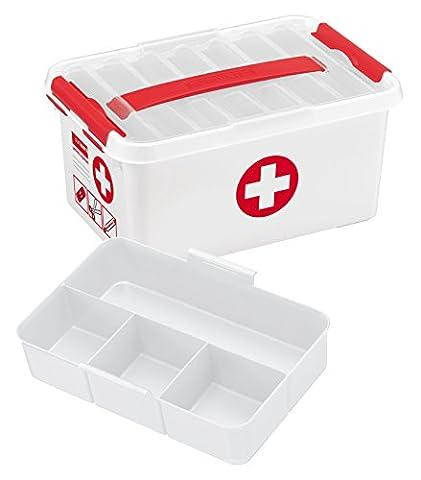 Sunware 79201604 Boîte de secours avec poignée 6 L