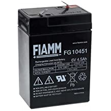 FIAMM Recambio de Batería para Peg Perego Feber Injusa Smoby Diamec 6V ...
