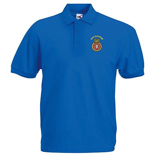 Pineapple Joe'sHerren Poloshirt Königsblau