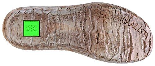 El Naturalista Myth Yggdrasil N5133 Stivaletto Da Donna Con Cerniera E Cerniera In Legno Di Piuma Fredda