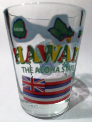 Hawaii-The-Aloha-State-All-American-Collection-Shot-Glass-by-World-By-Shotglass